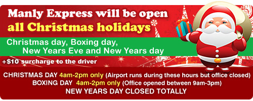 Open All Christmas Days